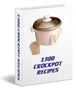1300 SLOW COOKER CROCKPOT RECIPES eBook-FREE S&H  - $2.49