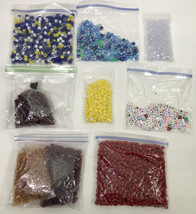 Lot Of 2lb Packs Of, Alphabet And Beads - $14.43