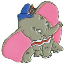 Disney WDW - Dumbo, with Timothy Never Sold pin/pins