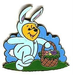 Disney WDW - Easter Bunny Winnie the Pooh 2000 pin/pins