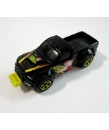 2000 Mattel Hot Wheels Crashers Psycho Smasher Black Ford Pickup Truck -... - $14.99