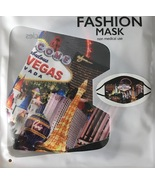 Welcome To Las Vegas Sign Strip Scene Washable Cloth Black Face Mask Cov... - $7.99