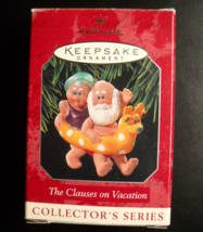 Hallmark Keepsake Christmas Ornament 1998 The Clauses On Vacation 2nd in... - $6.99