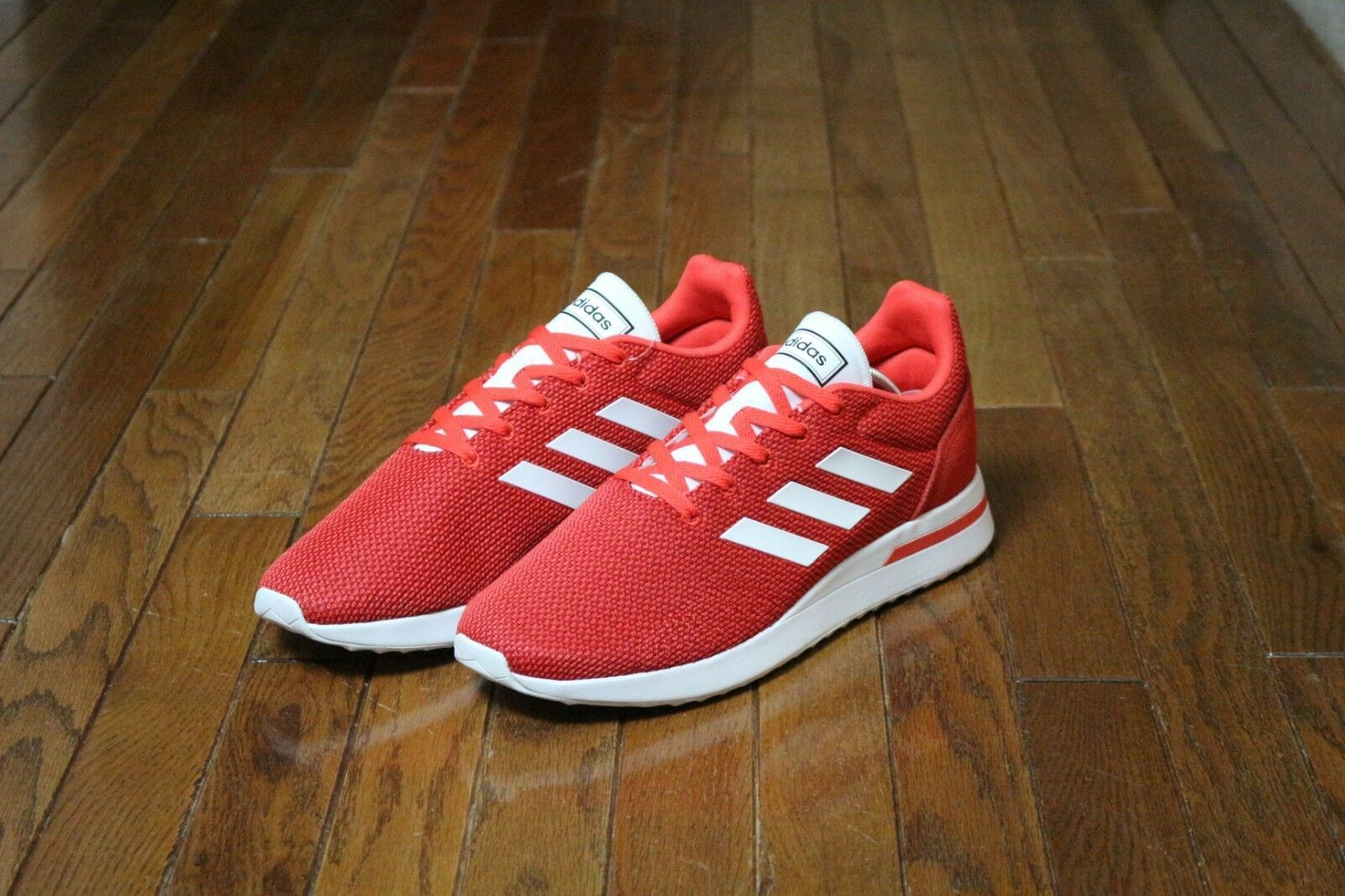 Adidas Men's Size 10.5 Essentials Run70s Running Shoe B96556 Red