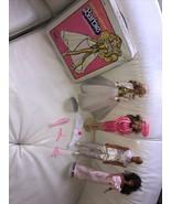 Mattel 1978  Golden Dream ,1990 Summit Barbie,1983 Ken, 1990 ThereSa & Case - $143.84