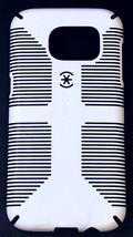 New Speck CandyShell Grip Samsung Galaxy S7 EDGE Shockproof Case - White/Black - $15.00
