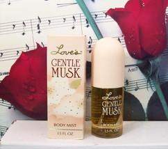 Love's Gentle Musk Body Mist 1.5 FL. OZ. By Mem. Vintage. - $44.99