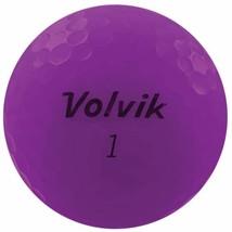 Volvik 2020 Vivid 3 Pc Golf Balls Matte Purple - $50.46