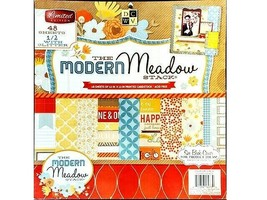 """DCWV The Modern Meadow 12x12"""" Cardstock Paper Pad #PSS-005-00307"""