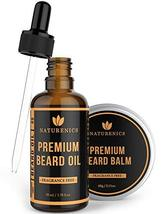 Naturenics Premium Beard Oil & Balm Wax Unscented Kit- Made with 100% Pure, Orga image 8