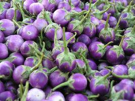 30++ Thai Purple Mini Round Eggplant Vegetable Seeds - $14.99