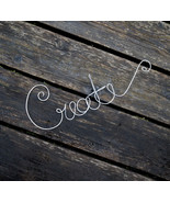 Create Wall Sign Great For Inspirational Home Office Decor Or Studio  - $29.50