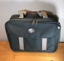 American Tourister Carry On Bag Luggage Green Suitcase Travel Overnight - $27.06