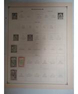 Lot of 5 Vintage Madagascar Postage Stams 1908-1917 On Page Make an Offer - $12.01