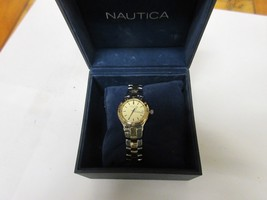 Nautica Ladies  Watch N85133L Stainless Steel , Vintage , Old / New   - $391.05
