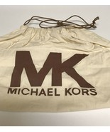 "Michael Kors  Cotton Protective Dust Drawstring Closure Bag 21"" X 20"" - $19.99"