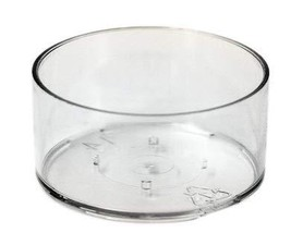 50 Clear Tea Light Cups Sage for All Candle Waxes - $9.65