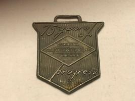 Vintage Watch Fob - Diamond Oilwell Jubilee 75 Years of Progress - $17.00