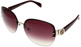 Giorgio Armani Sunglasses Women GA755 SAN1N Light Gold Burgundy Fashion - $177.21