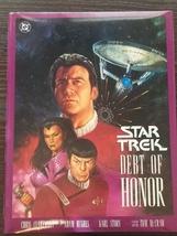 Star Trek Debt of Honor Hardcover Graphic Novel - $8.00