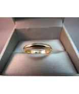 14k Yellow Mens Gold Milgrain Wedding Band Solid Artcarved 5.63g Size 11... - $247.49