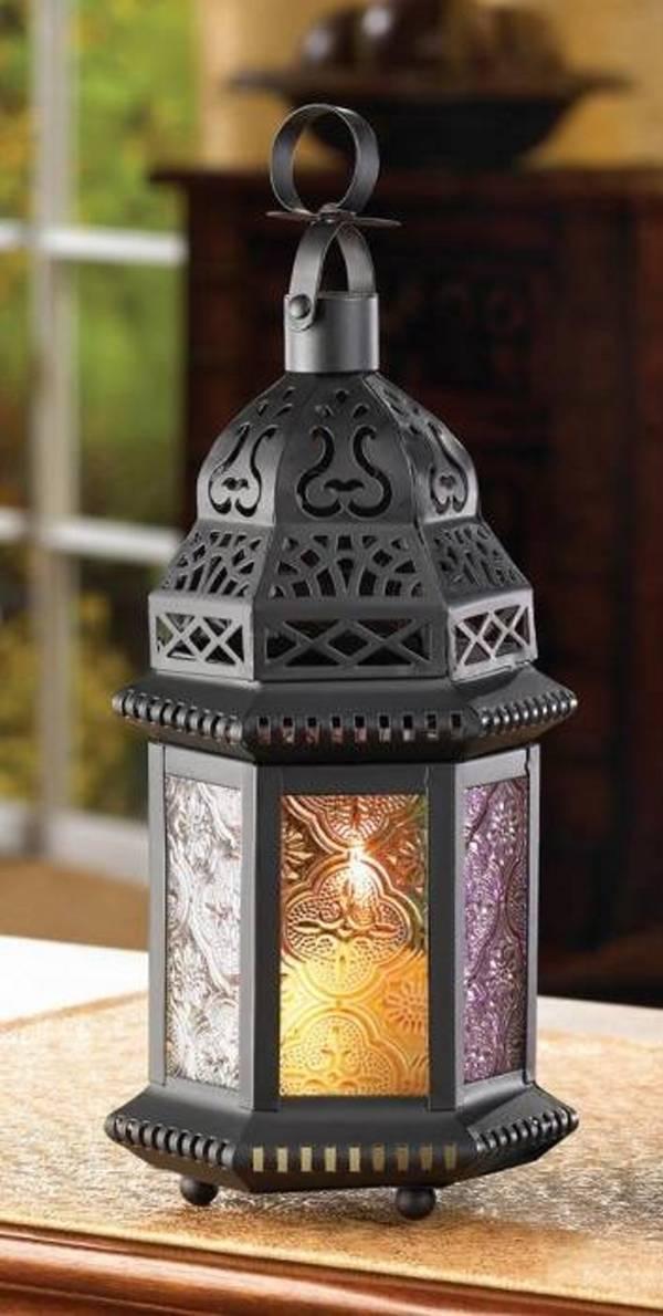 14119 SHIPS FREE Gallery of Light Magic Rainbow Candle Lantern