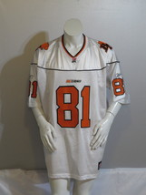 BC Lions Jersey (Retro) - Geroy Simon # 81 Road White by Reebok - Men's 2XL - $149.00