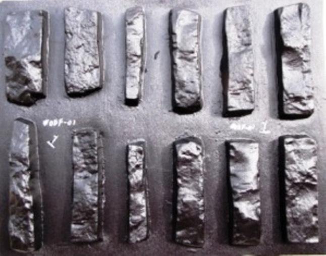 Odf 01 drystack flat face stone