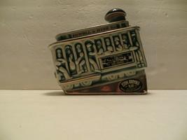 VINTAGE 1968 Ezra Brooks Powell & Hyde St. Street Car Whiskey Decanter, Green  - $39.59