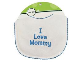 Circo Bib-I Love Mommy-Hook & Loop Closure Baby Bib