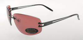 Serengeti Roggia Satin Gun Black / Sedona Polarmax Sunglasses 7079 - $146.51
