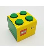 Lego Lunch Mini Box 4 Dark Green New Snack Size Food Safe - $19.34