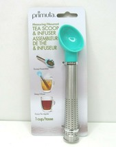 Tea Scoop Infuser Primula Epoca 1 Cup Measuring Spoon Steep Mix Blend Fl... - $14.84