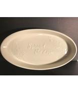 Hallmark Home Spread the Love Oval Platter Tray & Wood Spreader - $2.96
