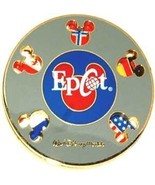 Disney WDW - Epcot Flags Spinner Flags pin/pins - $24.18