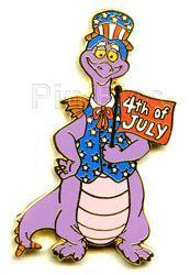 Disney  WDW - Figment dragon commemorate pin/pins