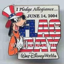 Disney WDW Goofy 3D flag day Limited Edtion pin/pins - $34.99