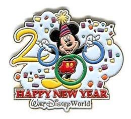 Disney WDW - Happy New Year 2000 Mickey pin/pins