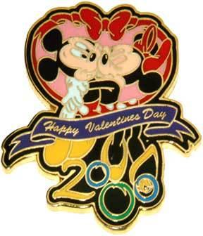 Disney WDW - Happy Valentines Day 2000 pin/pins