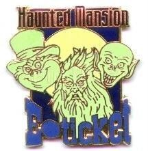 Disney WDW - Haunted Mansion E-Ticket  Pin/Pins
