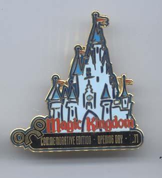 Disney  WDW Magic Kingdom Castle LE pin/pins