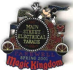 Disney WDW Main Street Electrical Parade Pin/Pins