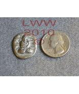 Pewter Buddha Pewter Pocket Stone Wicca NEW PAGAN - $2.95