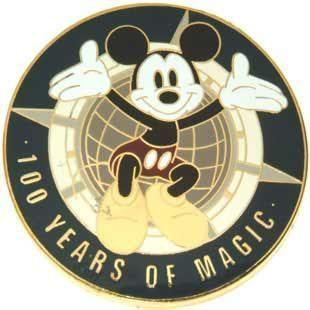 Disney WDW Mickey 100 Years of Magic  Event Pin/Pins