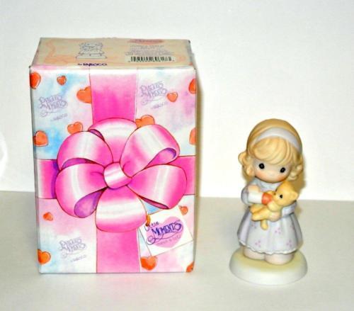 Precious Moments Cheerful Giver Porcelain Hinged Box