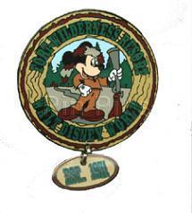Disney WDW  Mickey Hunter Wilderness Resort  pin/pins