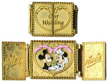 Disney  WDW - Our Wedding Mickey & Minnie pin/pins