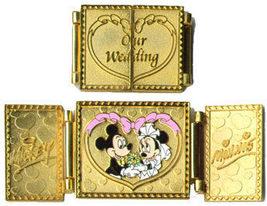 Disney  WDW - Our Wedding Mickey & Minnie pin/pins - $49.99