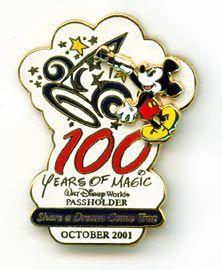 Disney  WDW - Share A Dream Annual Passholder  Pin/Pins