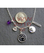 I Love Vampires Silver-tone charm necklace NEW - $5.99